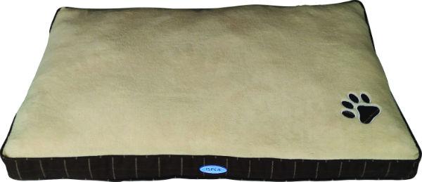 large dog bed brown