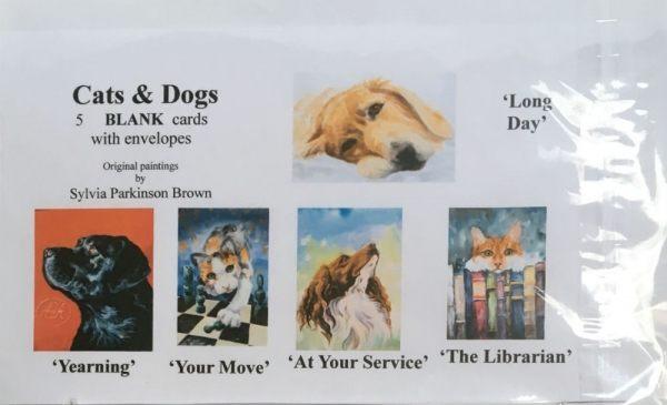 Selection of dog cards